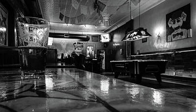 New Mexico Photograph - Night At The Bar by Michael Osborne