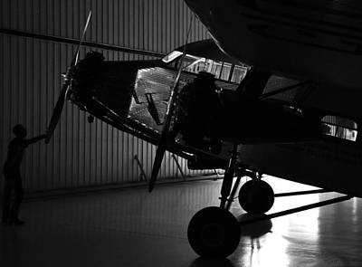 Ford Tri-motor Photograph - Night At The Museum by Brent Taylor