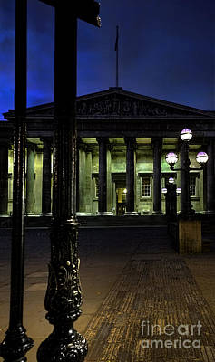 Photograph - Night At The Museum by Jasna Buncic