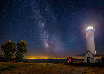 Photograph - Night At Tibbetts Point by Mark Papke