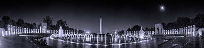 Photograph - Night At Washington Dc by Rima Biswas