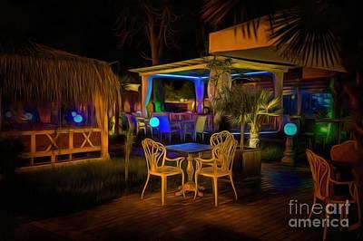 Digital Art - Night Bar by Eva Lechner
