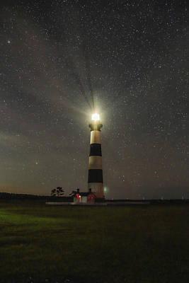 Photograph - Night Beacon by Jimmy McDonald