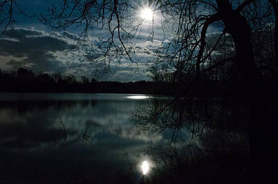 Photograph - Night Begins by Janice Adomeit