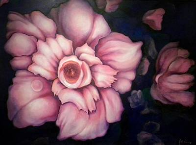 Painting - Night Blooms by Jordana Sands