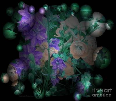 Photograph - Night Bouquet by Kathie Chicoine