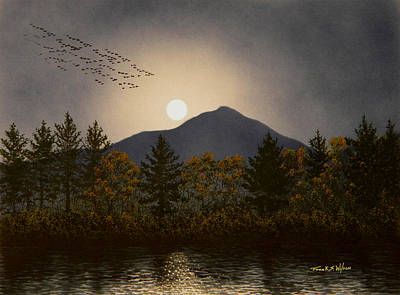 Painting - Night Calls by Frank Wilson