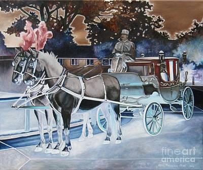 Painting - Night Coach by Heidi Parmelee-Pratt