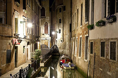 Photograph - Night Da Mario by Marco Missiaja