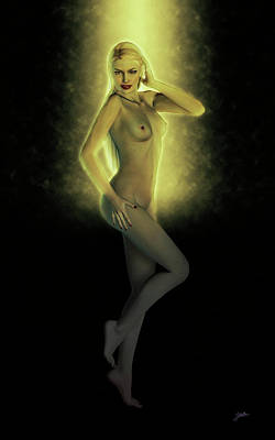 Digital Art - Night Dance by Joaquin Abella