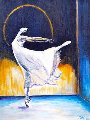 Painting - Night Dancer by Melanie Bourne