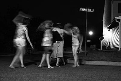 Photograph - Night Dancing by David Ralph Johnson
