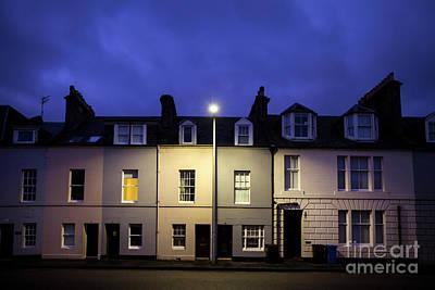 Photograph - Night Darkens The Street by Evelina Kremsdorf