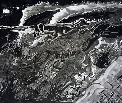 Night Print by David Frantz