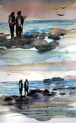 Night Dive Art Print