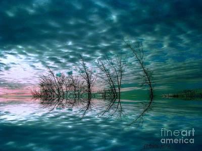 Mixed Media - Night Dream by Elfriede Fulda