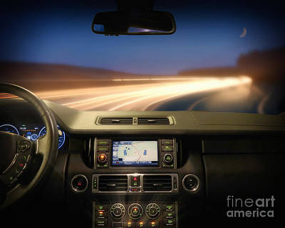 Photograph - Night Drive by Edmund Nagele