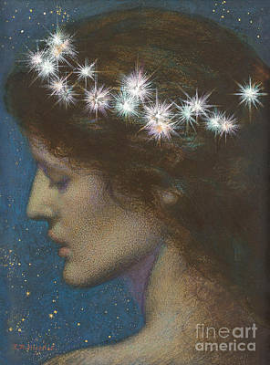 Bright Drawing - Night by Edward Robert Hughes