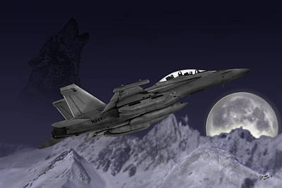 Prowler Digital Art - Night Egress by Clay Greunke