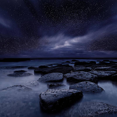 Waterscape Photograph - Night Enigma by Jorge Maia