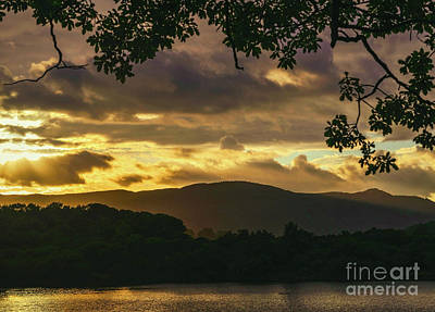 Photograph - Night Falls Over Derwentwater by Elvis Vaughn