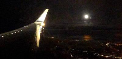 Photograph - Night Flight by Frank Winters