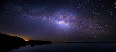 Photograph - Night Flight by Mark Andrew Thomas