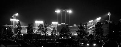 Landmarks Royalty Free Images - Night Game Royalty-Free Image by Ricky Barnard