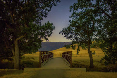 Photograph - Night Hike by Marc Crumpler