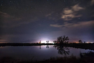 Photograph - Night In Bishop by Cat Connor