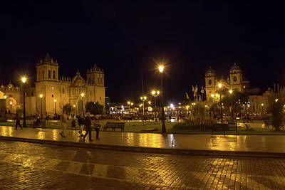 Ollivrosa Wall Art - Photograph - Night In Cusco by Amy Sorvillo