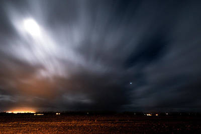 Photograph - Night In Iceland by Dubi Roman