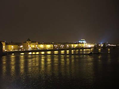 Night In Prague Original by Ladislav Kovac