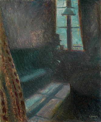 Expressive Painting - Night In Saint-cloud by Edvard Munch