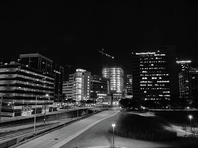 Photograph - Night In The Medical Center by Joshua House