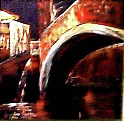 Painting - Night In Venice by Miki Sion