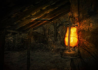 Oil Lamp Photograph - Night Is Falling by Jeff Mize