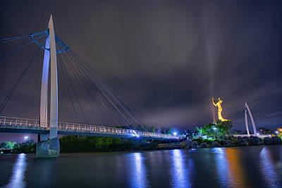 Wichita Photograph - Night Keeper by Thomas Zimmerman