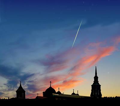 Photograph - Night Landscape by Vladimir Kholostykh