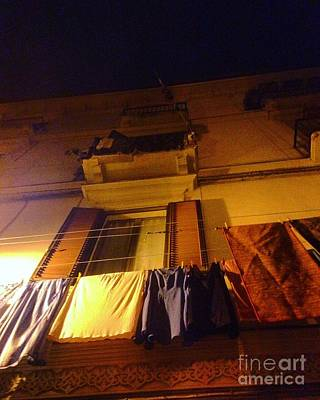 Photograph - Night Laundry by Angela Rath