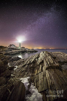 Maine Landscape Photograph - Night Light by Benjamin Williamson