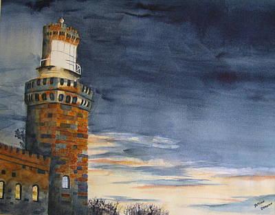 Night Light Art Print by Brian Degnon