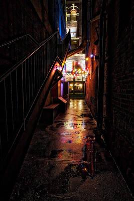 By Jackie Photograph - Night Light by Jackie Sajewski