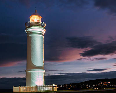 Photograph - Night Light by Nicholas Blackwell