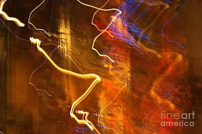 Night Lights 3 Print by Layne Hardcastle