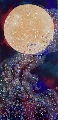 Painting - Night Magic by Michele Sleight
