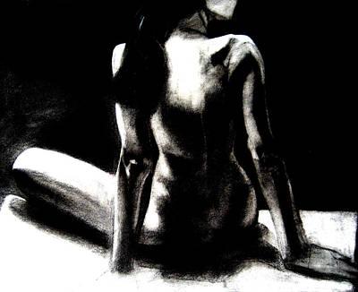 Night  Art Print by Michael De Alba
