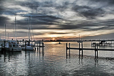 Photograph - Night Moods By H H Photography Of Florida by HH Photography of Florida