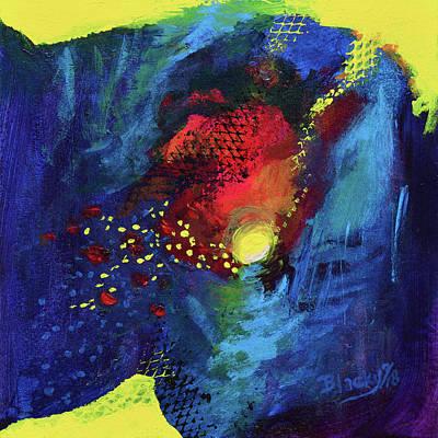 Mixed Media - Night Moods by Donna Blackhall