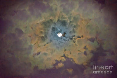 Photograph - Night Moon by Wanda Krack